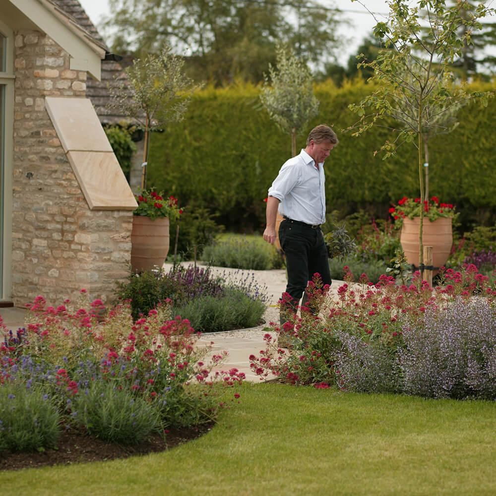 Modern Garden Design Wiltshire Festooning - Brown Nature Garden ...