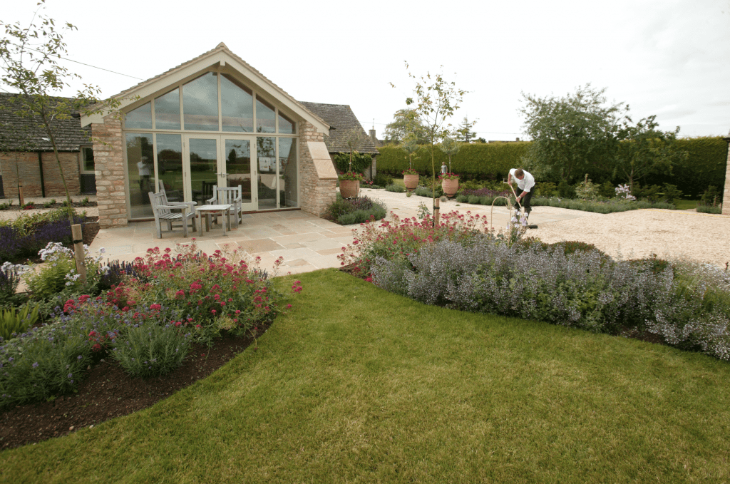 A recently completed Garden Design project in Cheltenham.