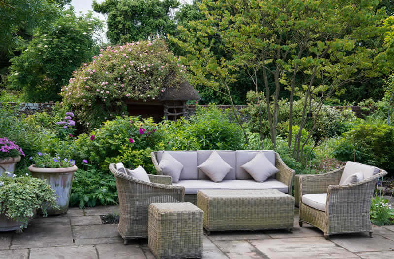 Garden designs installed by qualified garden designers.
